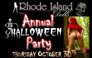 Halloween Party Rhode Island Dolls 2014