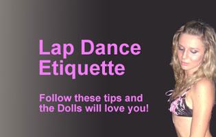 Lap Dance Etiquette