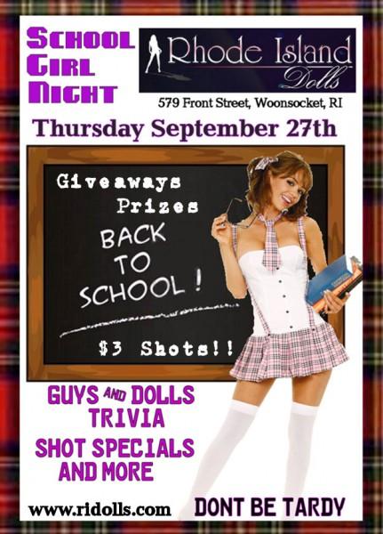 Rhode Island Dolls School Girls Night