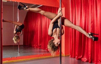 Stripper on pole