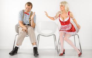 Shy Guys Can Talk with RI Dolls Dancers